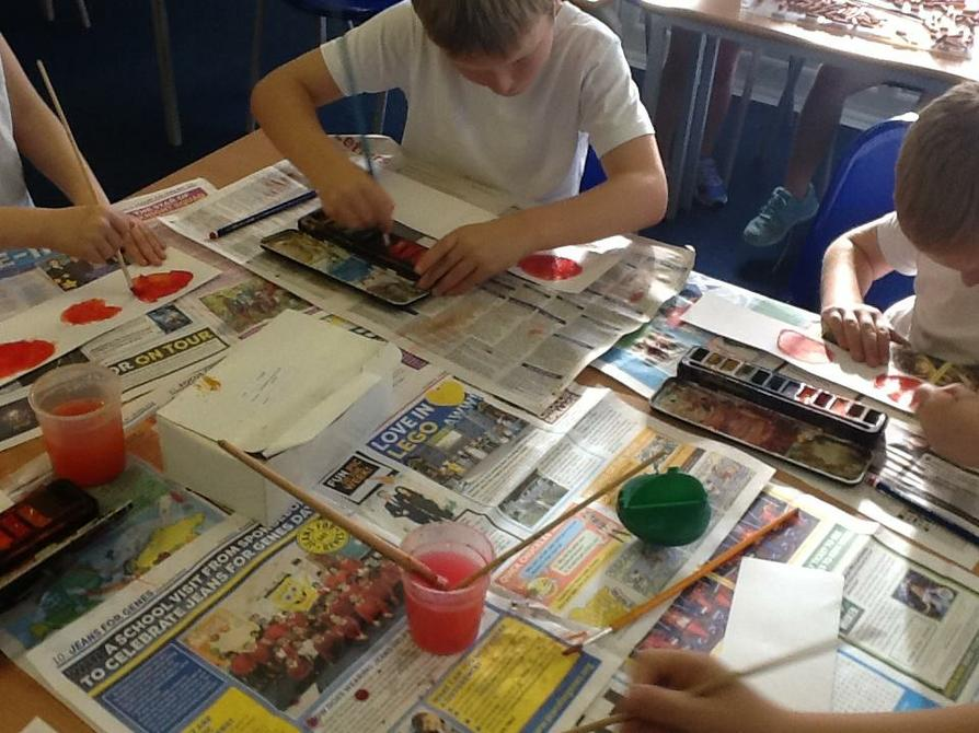Creating tone and light with watercolour.
