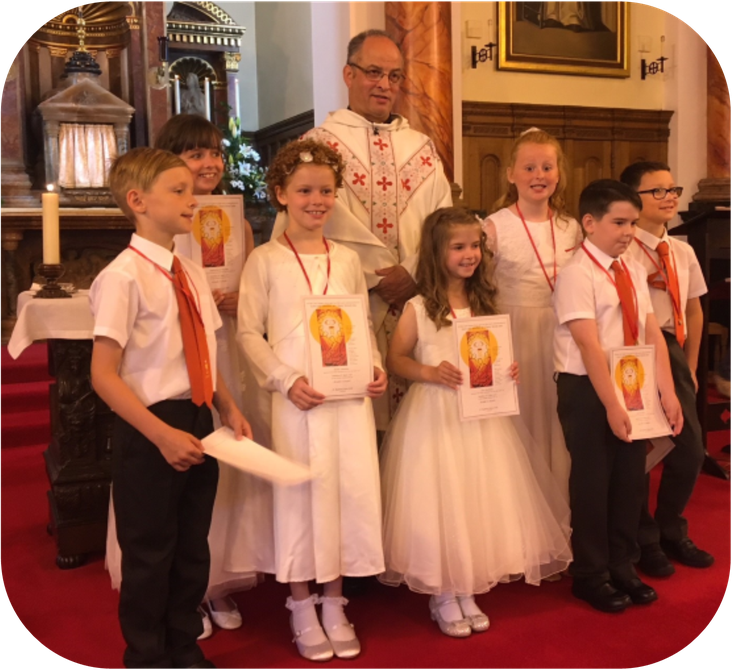 First Holy Communion, June 2018