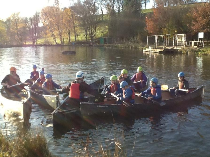 Boat race to Duncan, team leader.