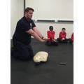 CPR (cardiopulmonary resusitation)