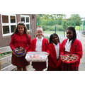 Thank you girls for your delicious donation.
