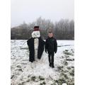 A super  Y5 snowman