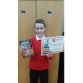 Our Accelerated Reader Champion!