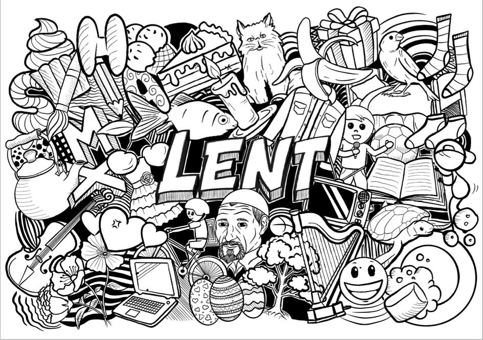 A Lent Calendar