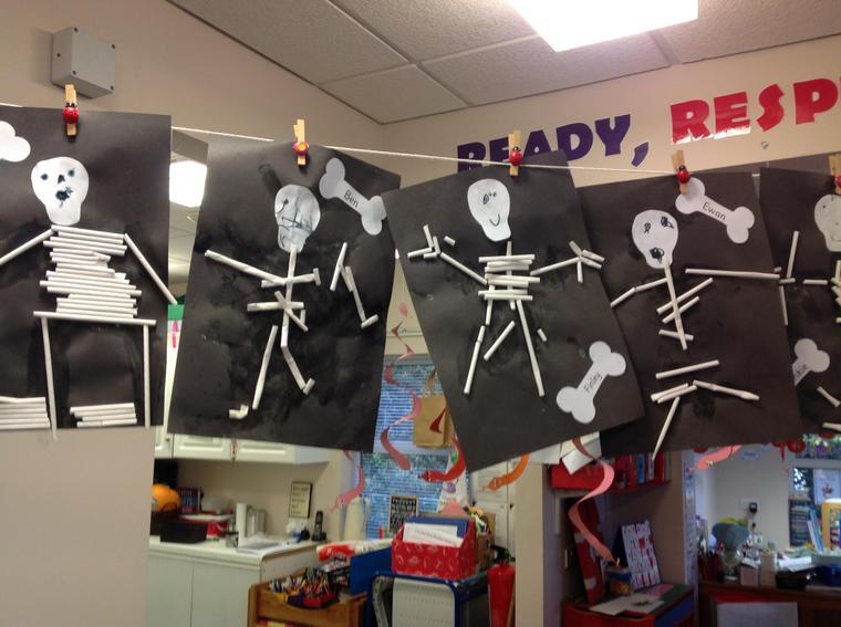 Funny Bones skeletons