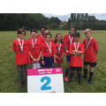 Tag Rugby team finish second
