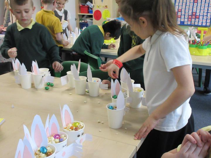 Making the bunnies