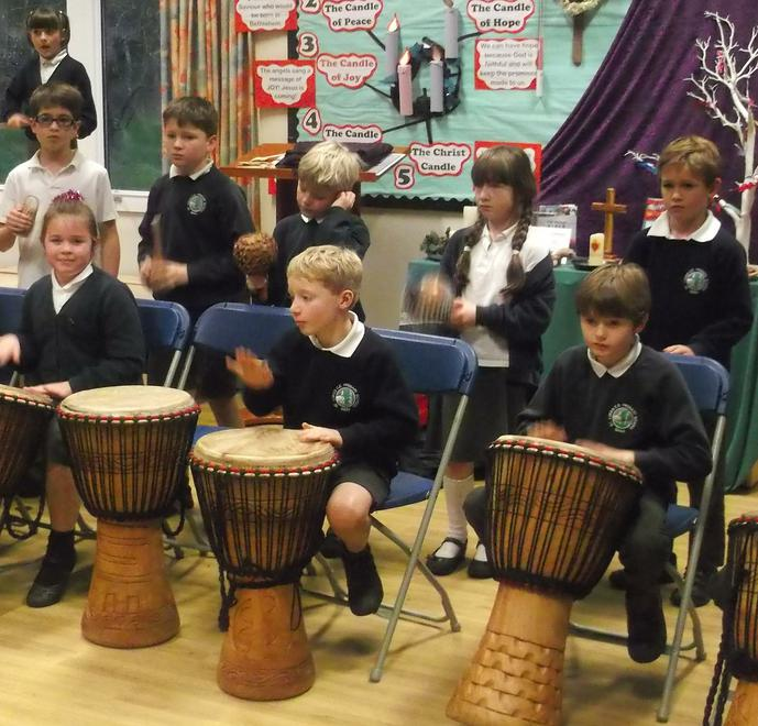 Learning African drumming