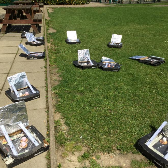 Y6 - Cooking on Solar Ovens