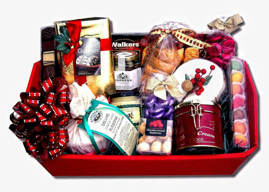 Our Christmas Hampers raised £842.03