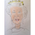 Marcus's picture of the Queen