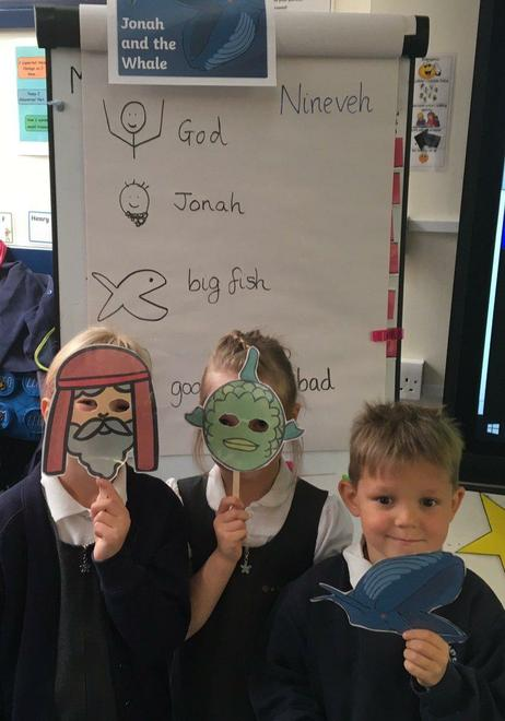 Y1 learning about Jonah and the Whale