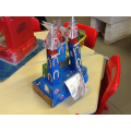 We made castles as part of our home learning!
