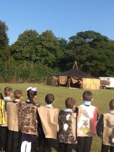 Meeting our Stone Age visitors