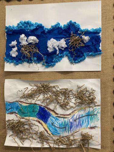 River Art in School