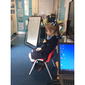 We have been hot seating.