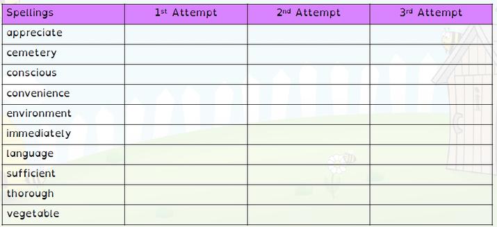 SPELLINGS WB 11.10.21