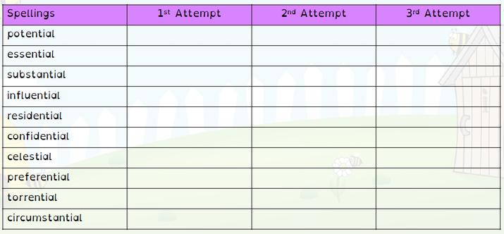 SPELLINGS WB 27.9.21