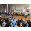 Working with theatre group 'A Play in a Day'