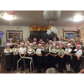 Carol Singing at Lavender Lodge Care Home