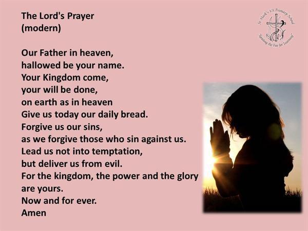 5. The Lords Prayer (Modern)