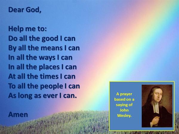 2. 'All I Can' prayer
