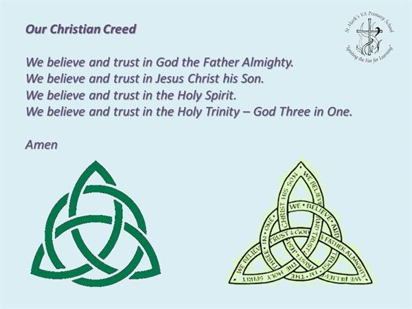 3. Our Christian Creed