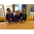 Creating our chocolate bars