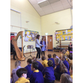 We had a visit from Musical Rocks.