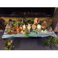Discoverers' winning nature table!