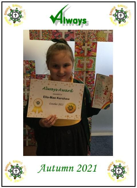 Well done Ella-Mae!