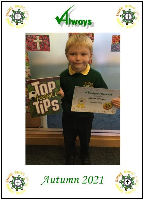 Well done Jacob!