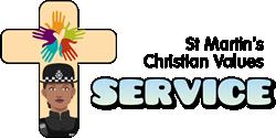 St Martin's Chsritian Values - service