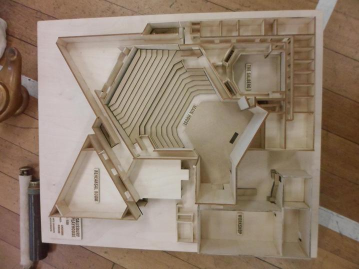 Model of Salisbury Playhouse
