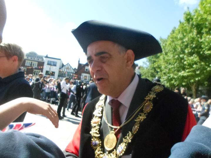 Mayor of Salisbury, Mr Mike Osment