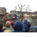 Learning about life in the trenches