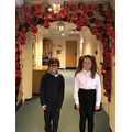 Our poppy arch