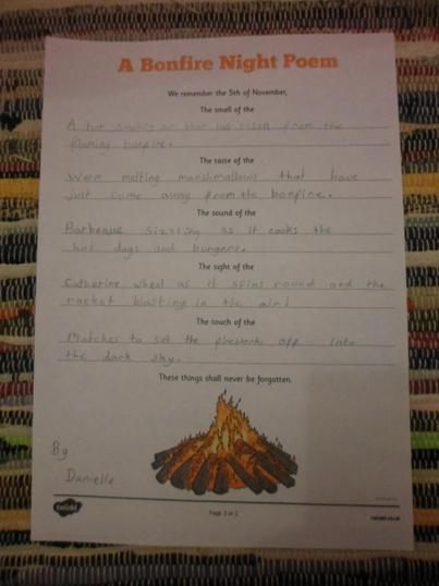 Danielle's poem