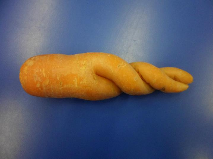 A twisty carrot