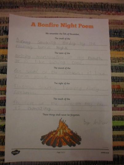 Andrew's poem