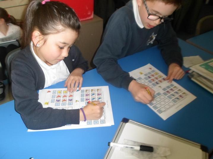 Completing dragon logic puzzles