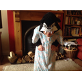 Yr3 Wolf dressed up as Grannie in Little Red Riding Hood