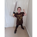 Year 4 Roman Soldier for World Book Day