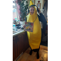 Mrs Brown as DJ Banana from Kitchen Disco by Clare Foges and Al Murray