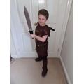Year 4 Roman Soldier World Book Day