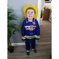 Reception Dressed up for World Book Day