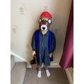 Year 1 Dressed as Paddington Bear