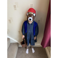 Y1 Dressed as Paddington Bear