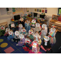 Yr1 read story of Kitchen Disco They went on a yoga adventure with Betsy the Banana and cr