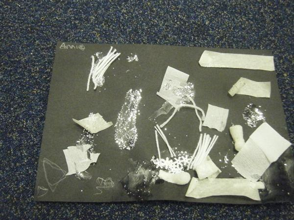 'One Snowy Night' - Independent collage by Annie